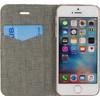 Mobilize Premium Gelly Alligator Apple iPhone 5/5S/SE Book Case Bruin