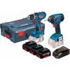 Bosch GSR 18 V-LI + GDR 18 V-LI