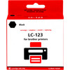 Pixeljet LC-123 Black for Brother printers (LC-123BK)