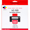 Pixeljet LC-123 4-Color Pack for Brother printers (LC-123VALBP)