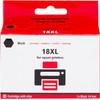 Huismerk 18 XL Zwart voor Epson printer (C13T18114010)