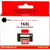 Huismerk 16 XL Cartridge Zwart voor Epson printers (C13T16314010)