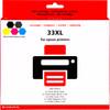 Huismerk 33 XL 5-Kleuren Pack voor Epson printers (C13T33574010)