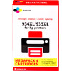 Huismerk 934/935 4-Kleuren XL voor HP printers