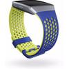 linkerkant Ionic Kunststof Horlogeband Geel S