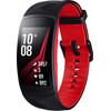 linkerkant Samsung Gear Fit 2 Pro Zwart/Rood S