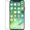 Azuri Protège-écran Verre trempé Apple iPhone X Lot de 2 Noir