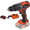 Powerplus Dual Power POWDP1520 + Acculader + Accu 20V 1,5 Ah