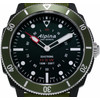 detail Seastrong Horological Zwart/Groen