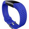 linkerkant Kunststof Horlogeband Blauw Large