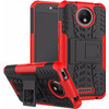 achterkant Rugged Hybrid Moto C Plus Back Cover Roo