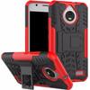 Just in Case Rugged Hybrid Motorola Moto E4 Back Cover Rood