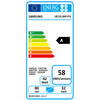 energielabel UE32LS001F Serif Blauw