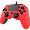 rechterkant PS4 Official Wired Controller Rood