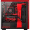rechterkant H700i Black / Red