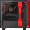 rechterkant H400i Black / Red