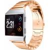 voorkant Fitbit Ionic RVS Horlogeband Rose Gold