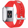 achterkant Fitbit Ionic Siliconen Horlogeband Rood