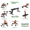 visual leverancier FB80 Flat Bench