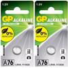 GP Alkaline Cell LR44 2x