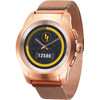 linkerkant ZeTime 44mm Smartwatch Elite Rose Goud
