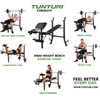 product in gebruik WB60 Olympic Width Weight Bench