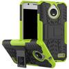 Just in Case Rugged Hybrid Motorola Moto E4 Back Cover Groen