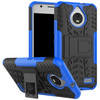 Just in Case Rugged Hybrid Motorola Moto E4 Back Cover Blauw