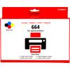 Huismerk T66 4-Kleuren Pack voor Epson EcoTank