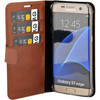 Valenta Booklet Classic Luxe Samsung Galaxy S7 Edge Bruin