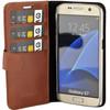 binnenkant Booklet Classic Luxe Galaxy S7 Bruin