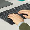 product in gebruik MK545 Draadloze Toetsenbord en Muis
