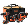 Black & Decker BCK31S1S-QW Combi Set