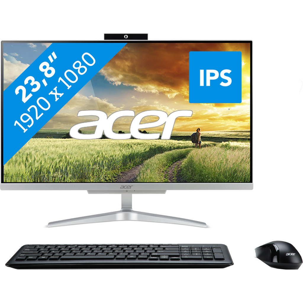 Acer Aspire C24-865 I8628 BE Tout-en-un Azerty