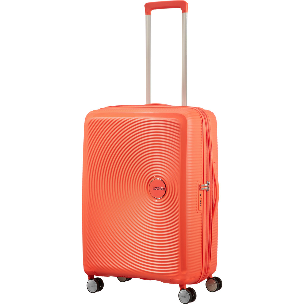 American Tourister Soundbox Expandable Spinner 67 cm Spicy Peach