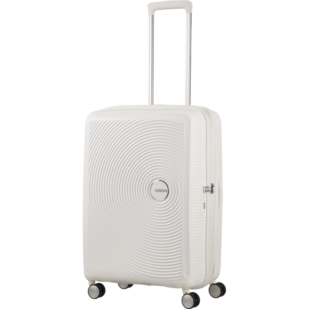 American Tourister Soundbox Expandable Spinner 67 cm Pure White