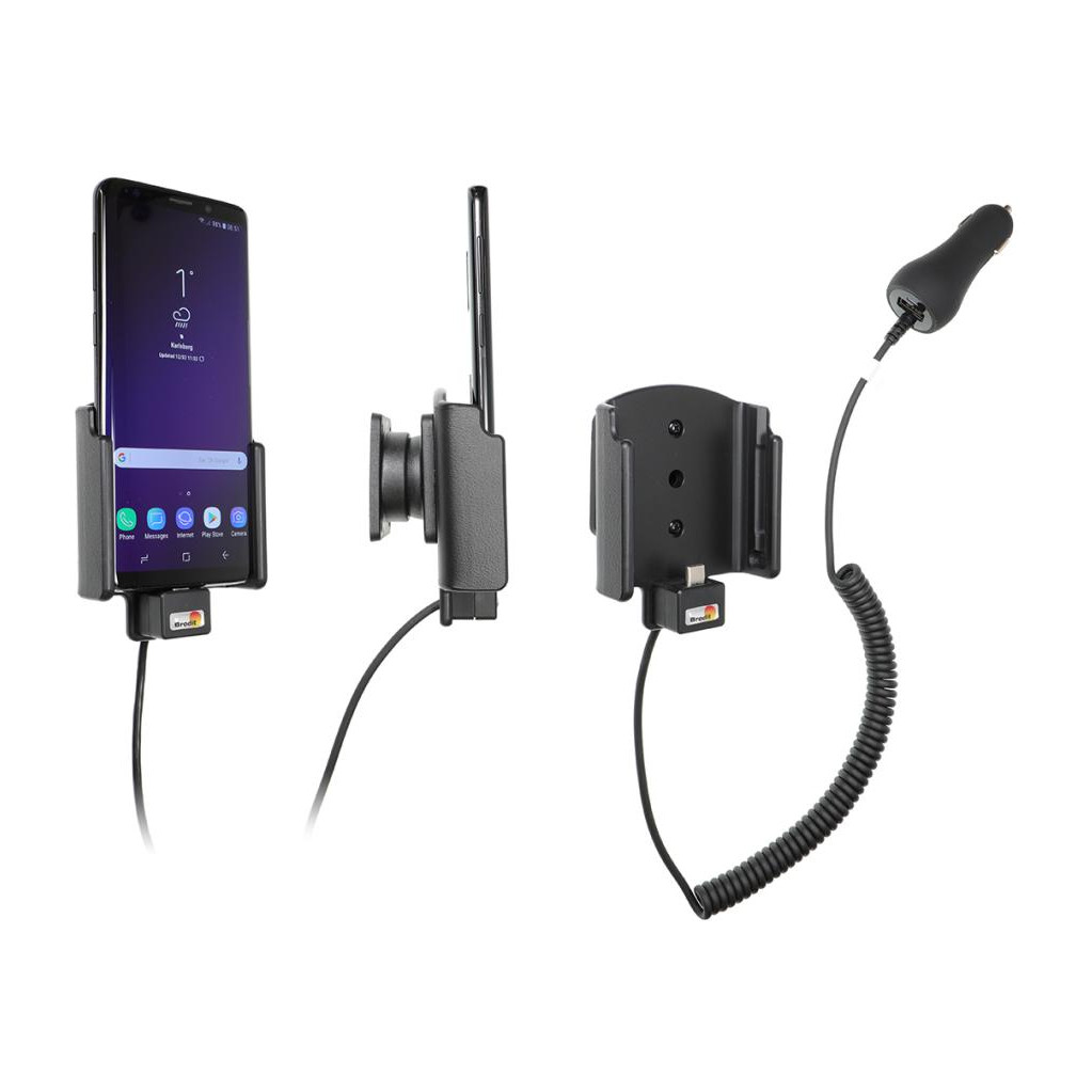 Brodit Support Samsung Galaxy S9 avec Chargeur