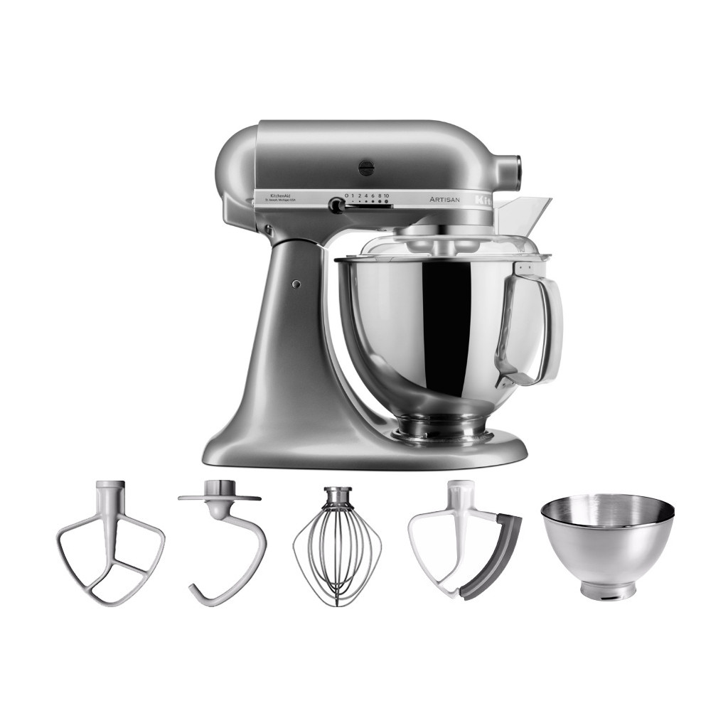KitchenAid Artisan Mixer 5KSM175PS Contour Argent