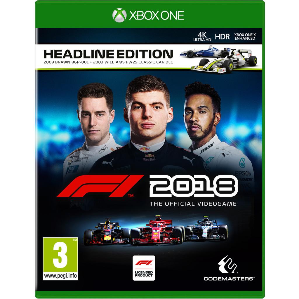 F1 2018 Headline Edition Xbox One