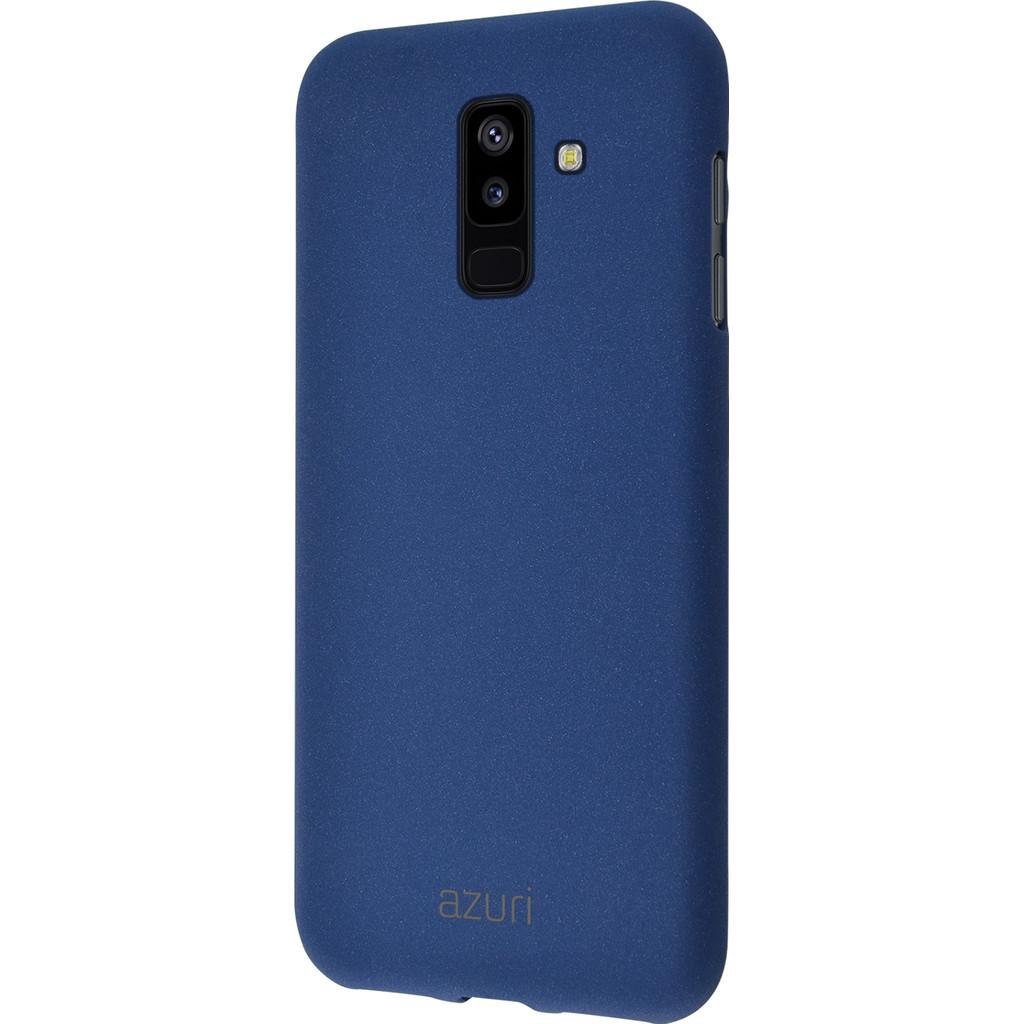 Azuri Flexible Sand Coque arrière Samsung Galaxy A6 Plus (2018) Bleu