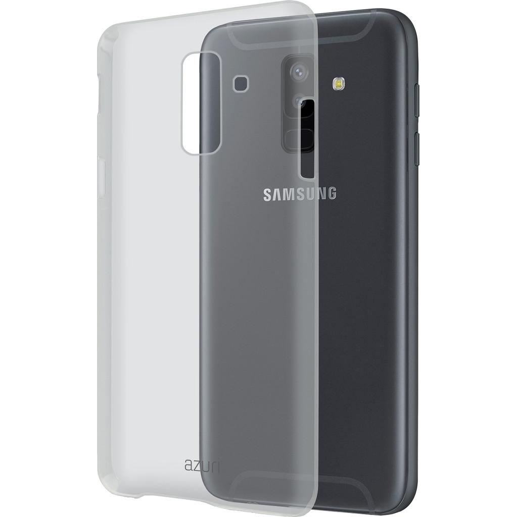 Azuri Glossy Coque arrière TPU Samsung Galaxy A6 Plus (2018) Transparent
