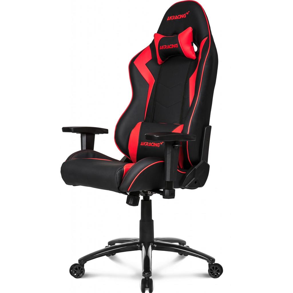AKRacing Chaise de gaming Core SX - Similicuir en polyuréthane Rouge