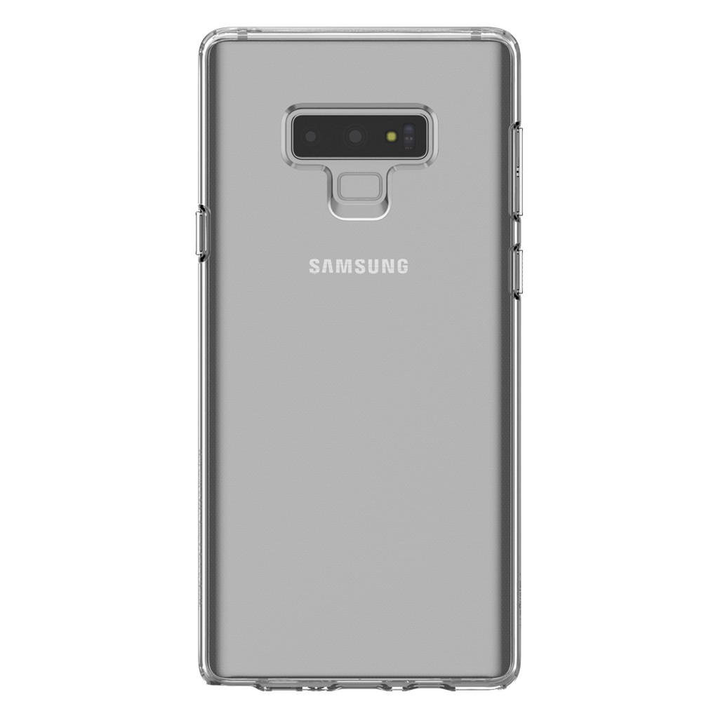 Coque arrière Spigen Liquid Crystal Samsung Galaxy Note 9 Transparent