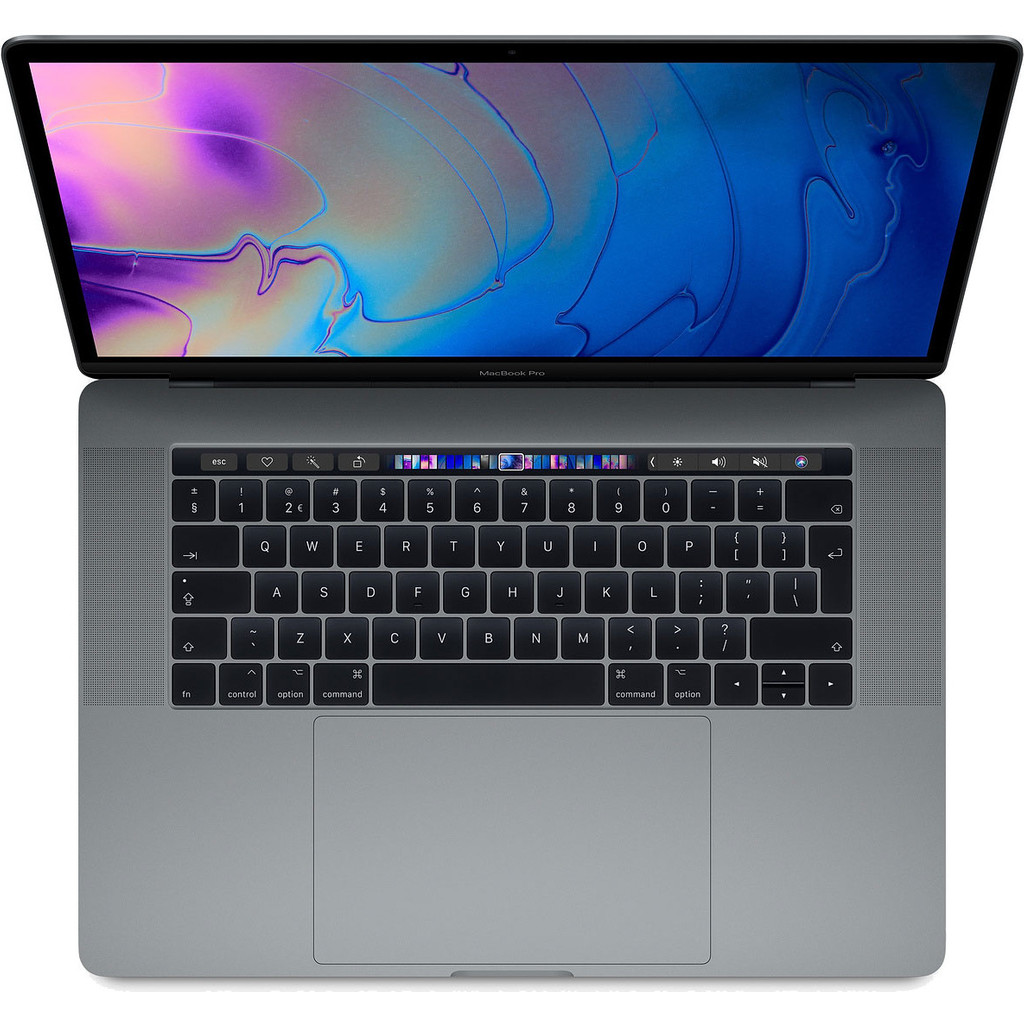 Apple MacBook Pro 15'' Touch Bar (2018) MR932FN/A Gris sidéral Azerty