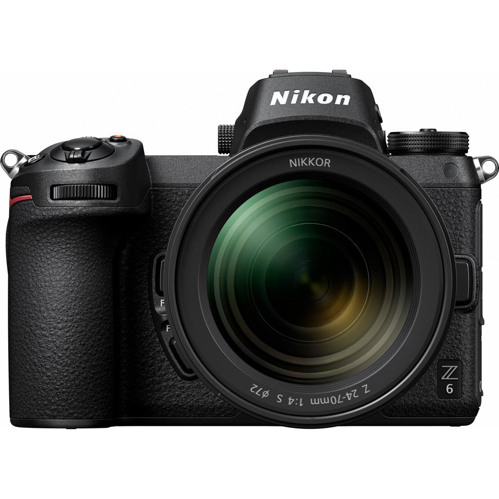 Nikon Z6 + 24-70 mm f/4.0 S + Kit adaptateur FTZ