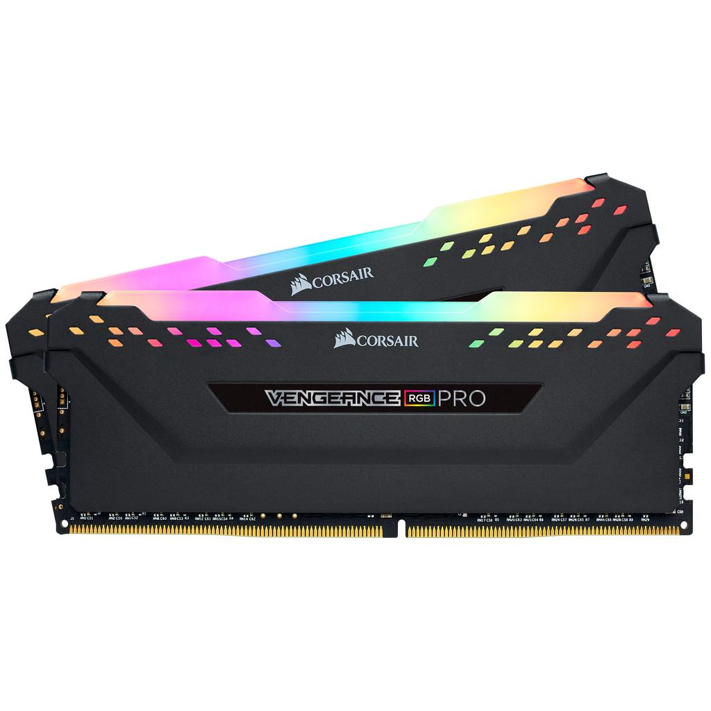 Corsair Vengeance RGB Pro 16 Go DDR4 DIMM 3600 Mhz/18 (2x8GB) Noir
