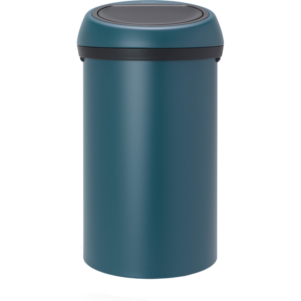 Brabantia Touch Bin 60 Litres Mineral Reflective Blue