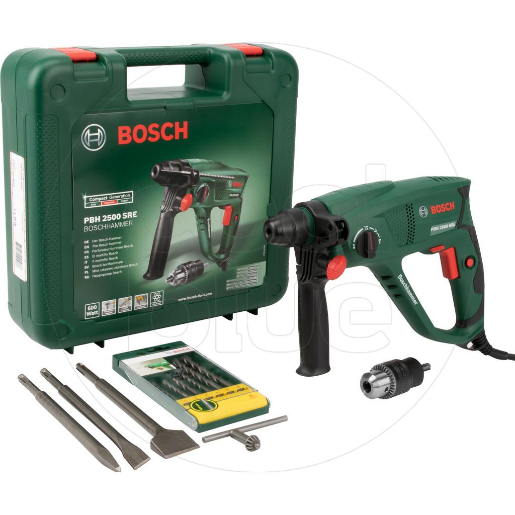 Bosch PBH 2500 SRE+ set de burins