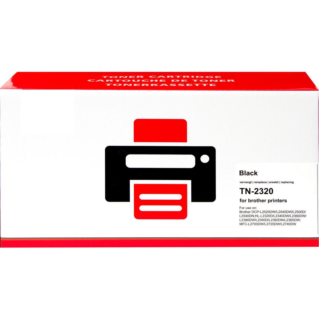 Huismerk TN-2320 Toner Zwart voor Brother printers