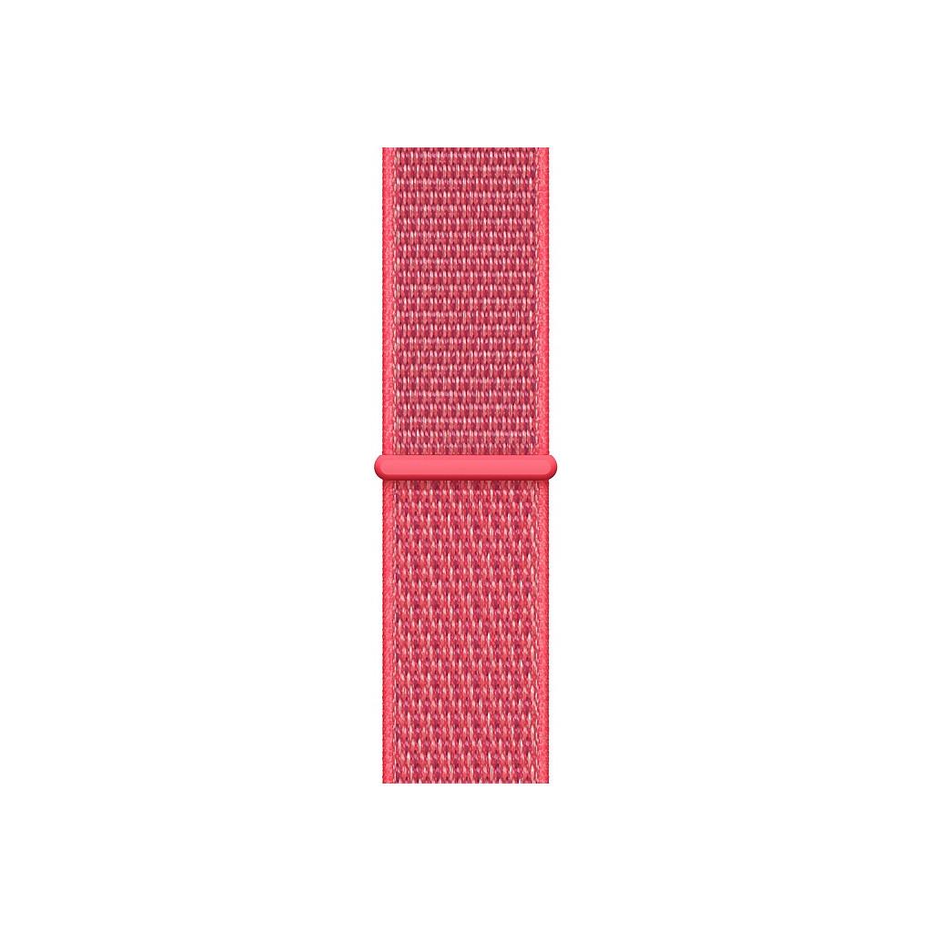Apple Watch 44mm Nylon Sport Loop Horlogeband Hibiscus